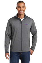 Load image into Gallery viewer, ST853 Mens Sport-Tek Sport-Wick Stretch Contrast Full-Zip Jacket