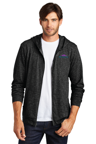 DT565 Mens District Medal Full-Zip Hoodie