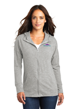 Load image into Gallery viewer, DT665 Ladies District Medal Full-Zip Hoodie