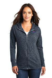 DT665 Ladies District Medal Full-Zip Hoodie