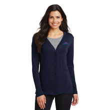 Load image into Gallery viewer, SML515 Port Authority® Ladies Modern Stretch Cotton Cardigan