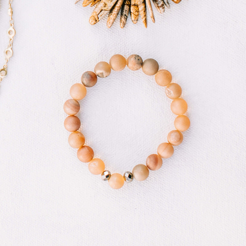Beloved Bracelet -- Blush - Jesinia Fashions