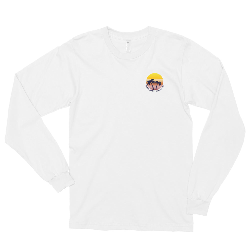 Sunset Collection Island T Shirt - Long Sleeve
