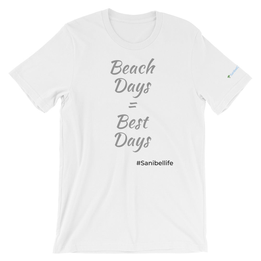 Beach Days Short-Sleeve Unisex T-Shirt