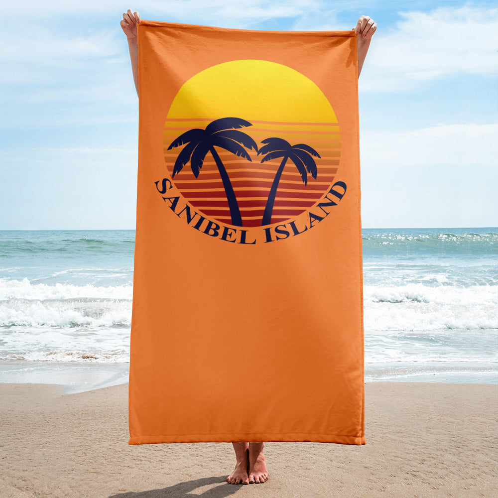 Sunset Premium Beach Towel