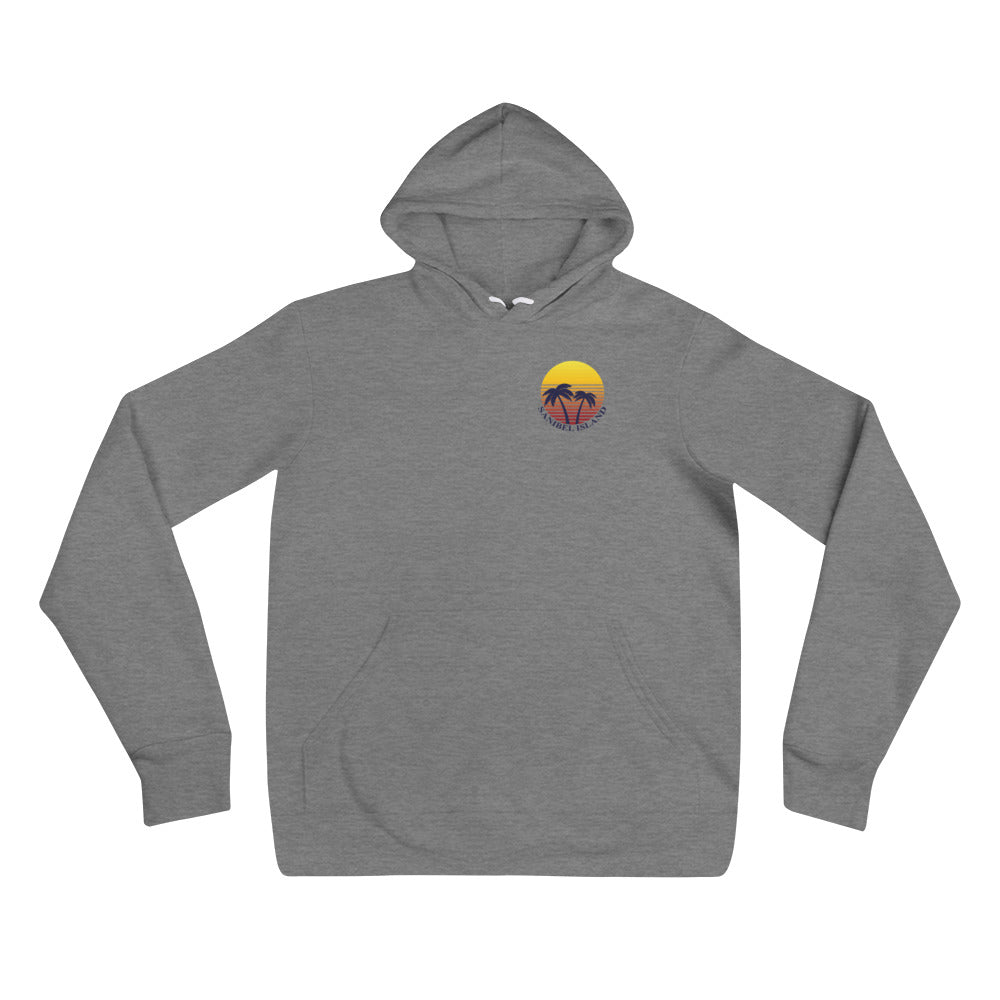 Sunset Collection Fleece Unisex hoodie