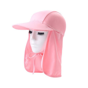 Youth Beach Hat With Neck Protection - SPF 50
