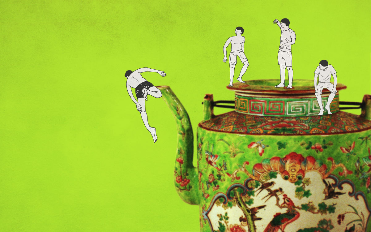 Peranakan Miniature (The Teapot)