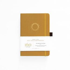 ARCHER & OLIVE  A5 MORNING SUN DOT GRID NOTEBOOK