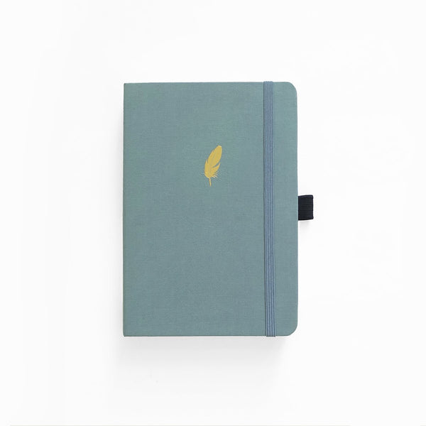 A5 ARCHER & OLIVE FLOATING FEATHER DOT GRID NOTEBOOK