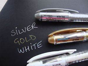 Uni-Ball Signo Broad Point Gel Pen White