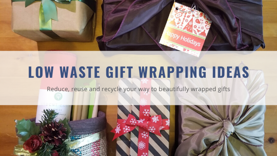 Low Waste Gift Wrapping Ideas