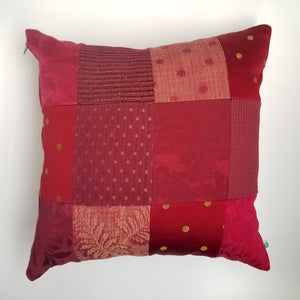 Upcycled Accent Pillow - Delaunay