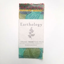 Load image into Gallery viewer, Earthology vegan food wraps snack pack