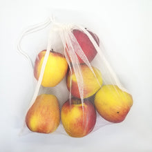Load image into Gallery viewer, Upcycled Produce Bags (set of 3)