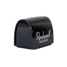 Load image into Gallery viewer, Rockwell blade safe side view, black with white logo
