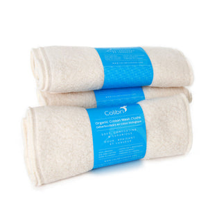 Organic Cotton Sherpa Wash Cloths (5 pack)
