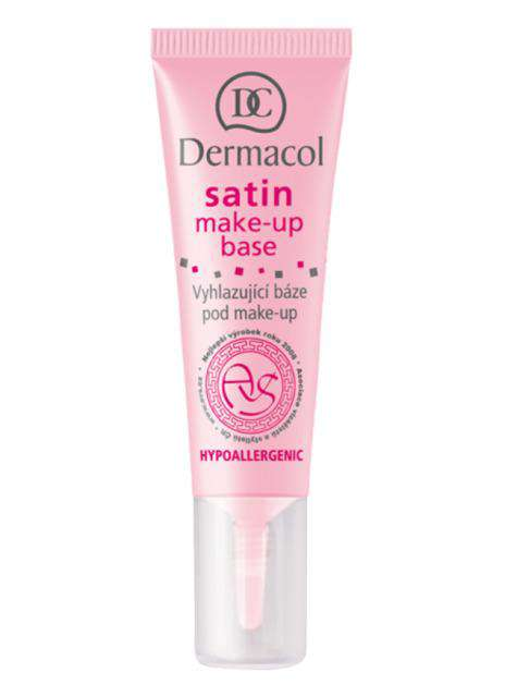 Satin Make-Up Base (10ml) - Dermacol India Makeup, Skin Care & More