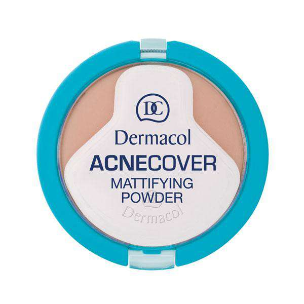 Acnecover Mattifying Powder - Dermacol India Makeup, Skin Care & More