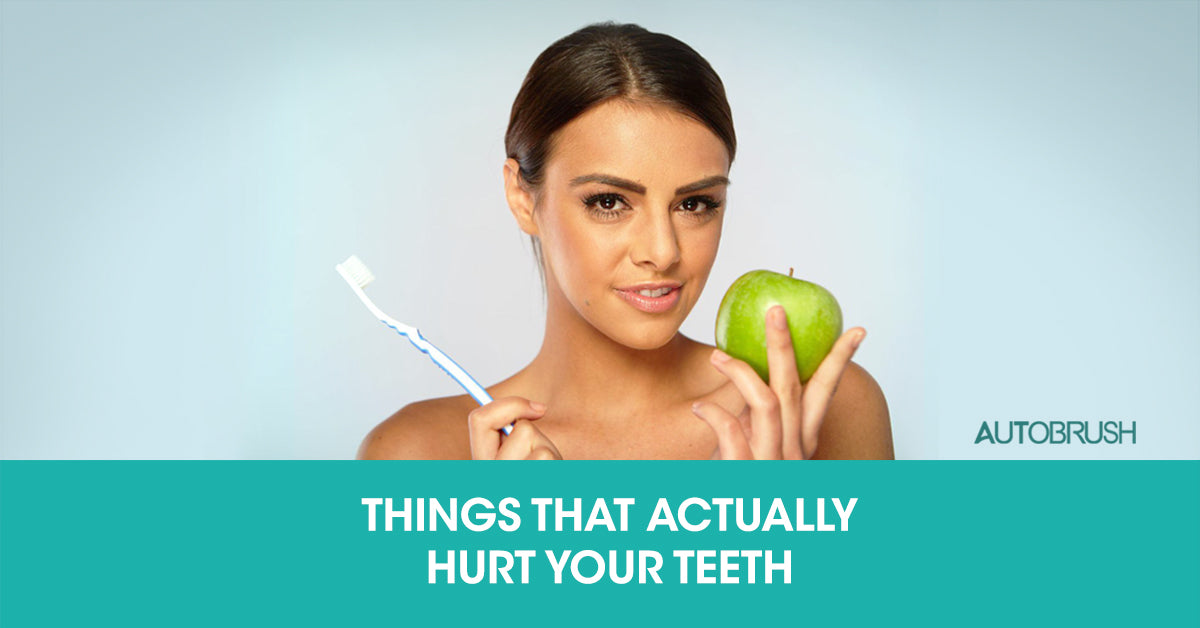 3 Everyday Things Ruining Your Teeth You Wouldn't Expect!