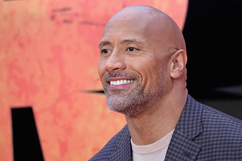 "Dwayne ""The Rock"" Johnson smiling, for AutoBrush"