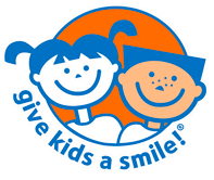 Give Kids A Smile charity logo