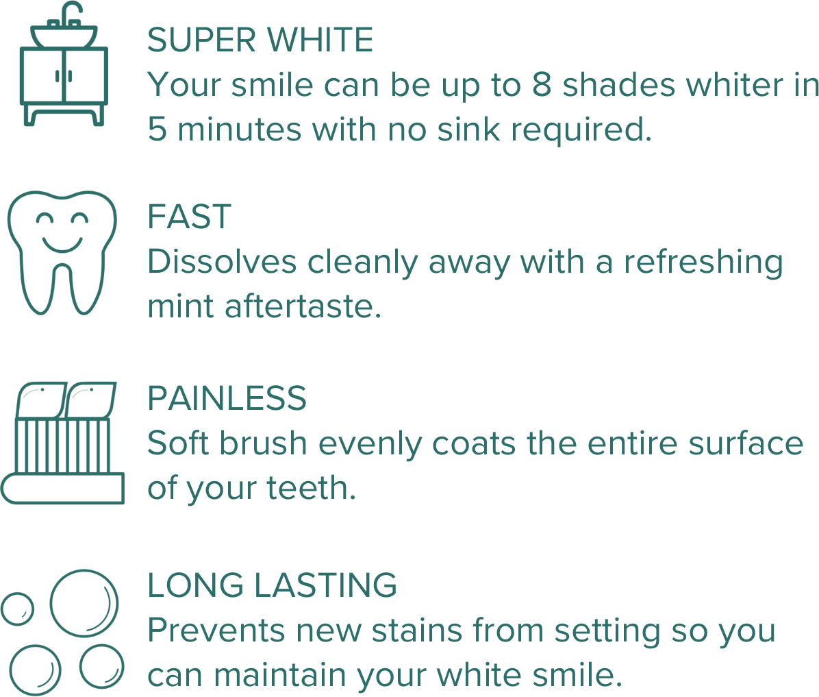 Benefits of AutoBrush on the go tooth whitening pen
