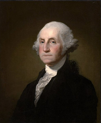 George Washington portrait, for AutoBrush blog