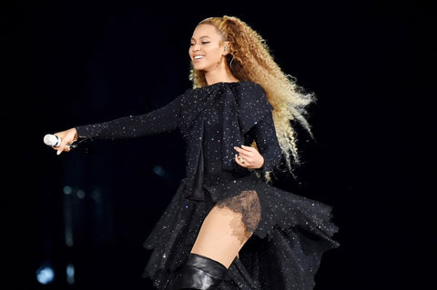Beyonce performing on stage, for AutoBrush