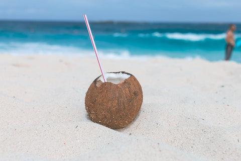 Coconut water comes from coconuts.