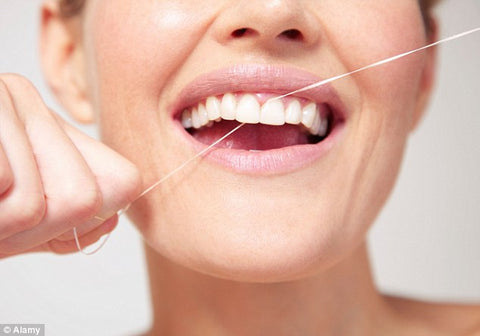 Remember to floss to remove bacteria.