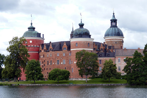 Water view of Gripsholm Castle in Sweden, for AutoBrush