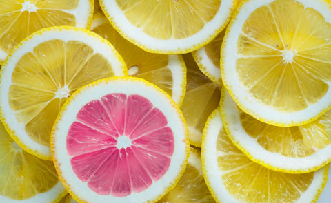 Lemon slices.