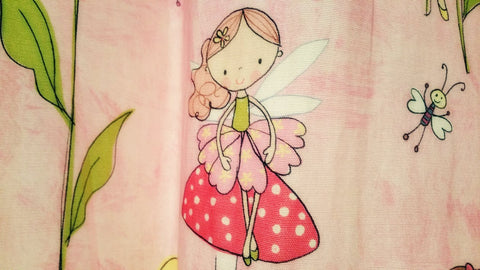A drawing of the tooth fairy