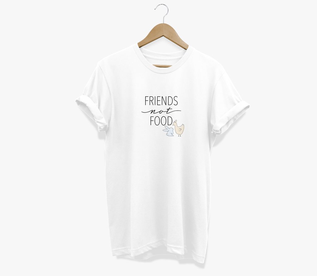Friends Not Food - 100% Cotton Tee