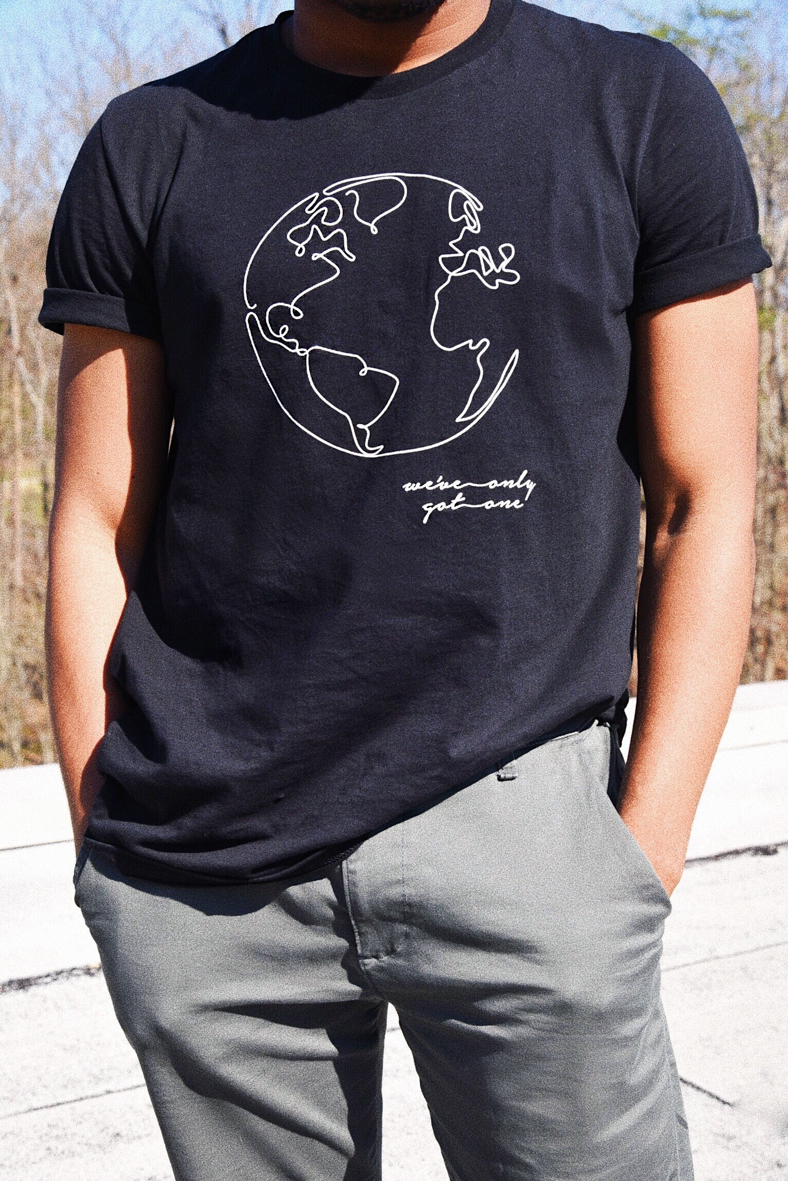 We've Only Got One - 100% Cotton Tee