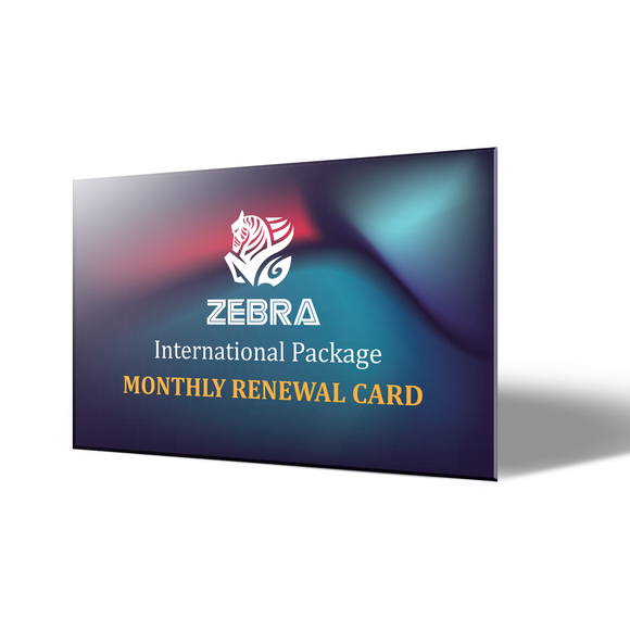 Monthly Renewal Card (1-Month Plan) 續約卡 (單月方案)