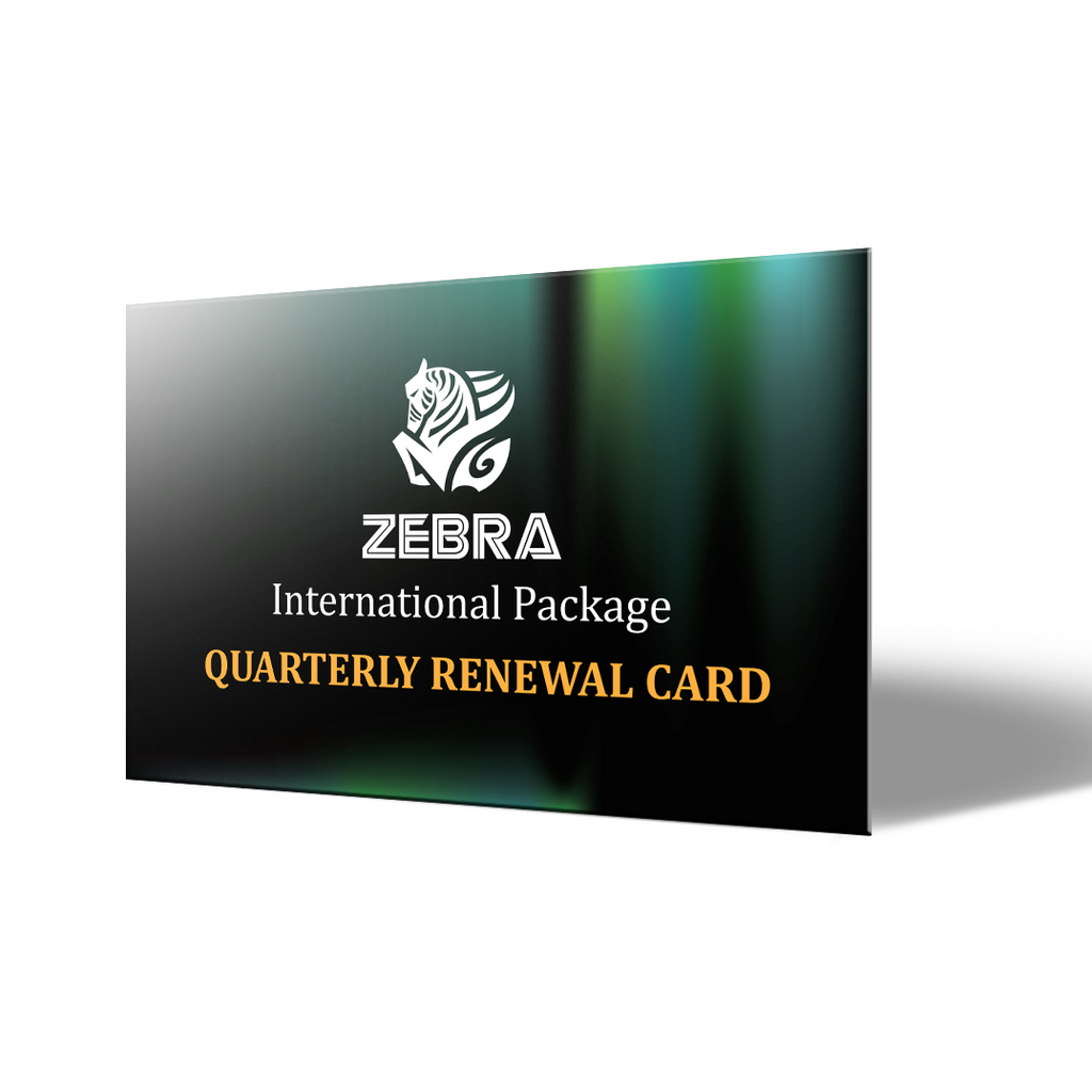 Quarterly Renewal Card (3-Months Plan) 續約卡 (三個月方案)