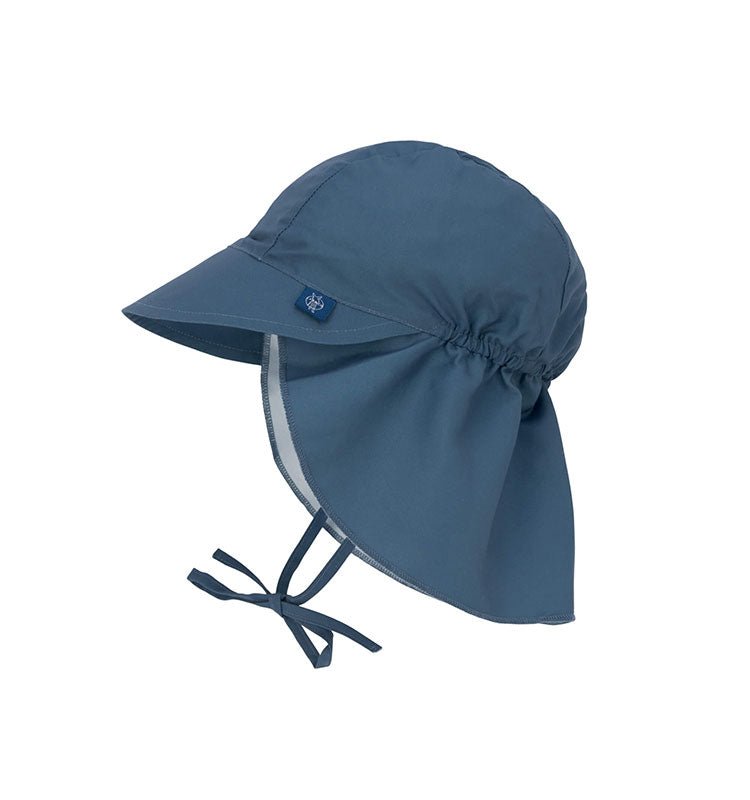 Sonnenhut UV-Schutz 80 || Sun Protection Flap Hat Navy