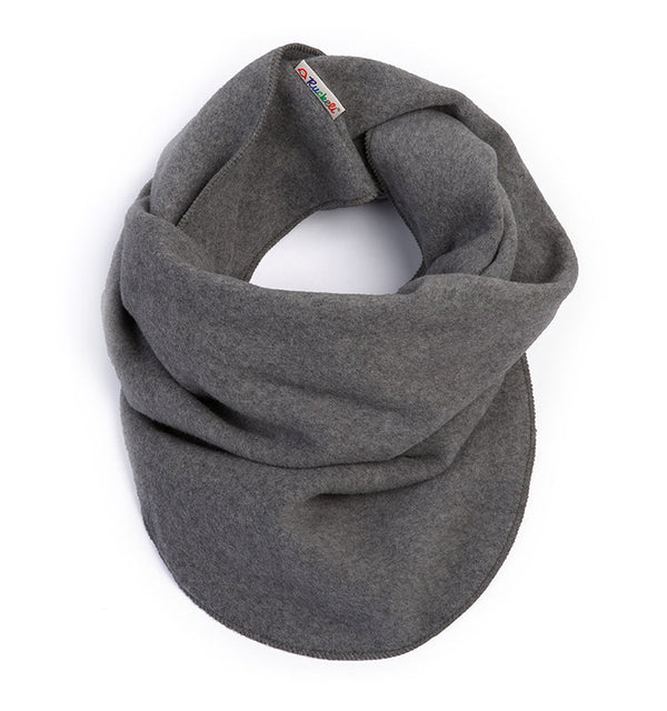 Loop-Schal || Fleece Grau