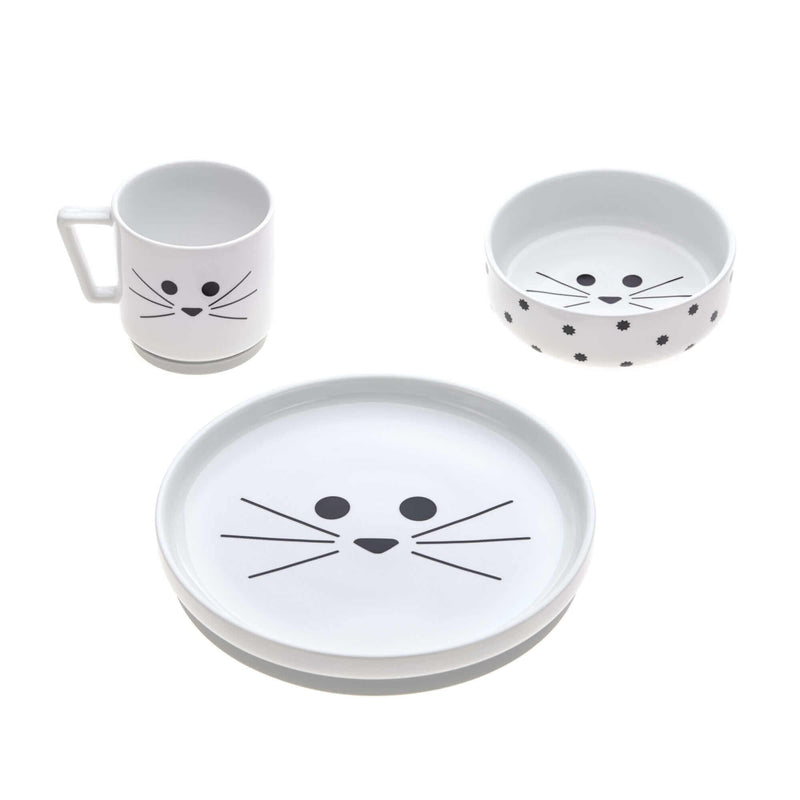 Dinner Set Porzellan || Little Chums Cat