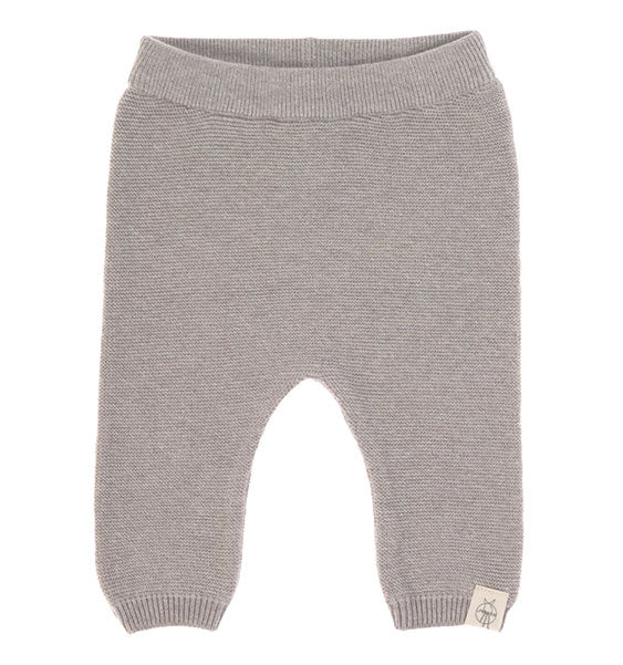 Baby Hose || Knitted Pants GOTS, Garden Explorer Grey