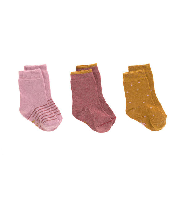 Kindersocken 3er Set || Socks Rosewood