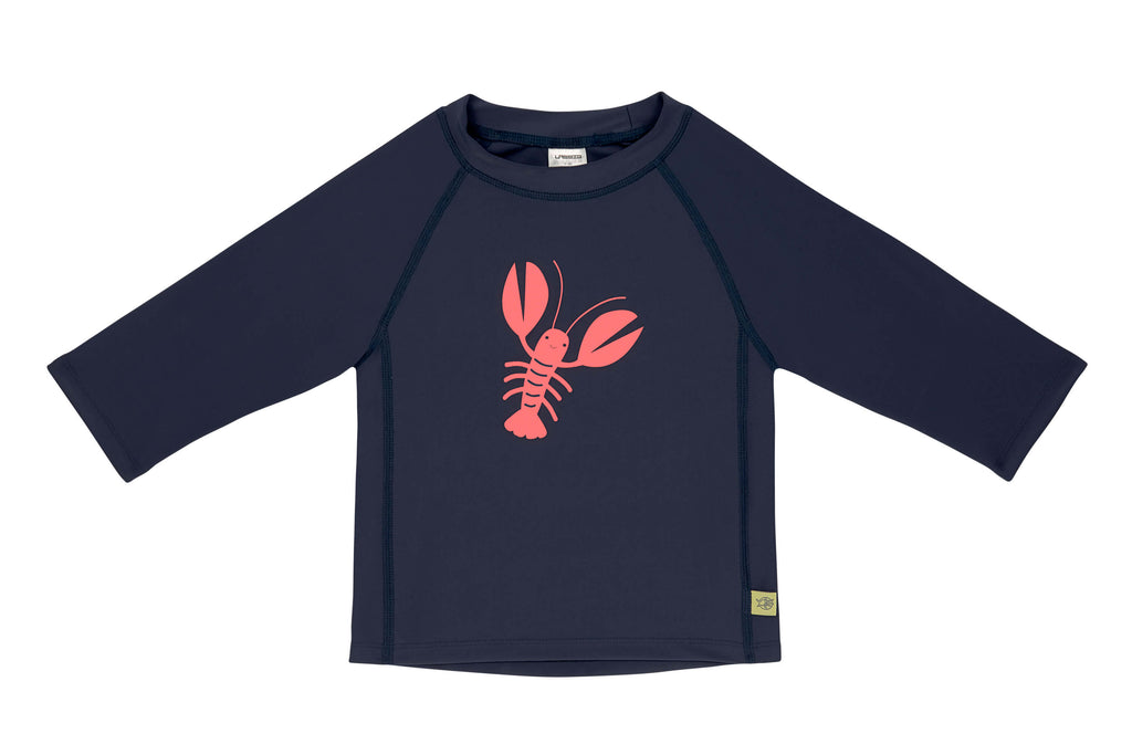 Kinder UV-Shirt Rashguard Lobster Lässig vorne