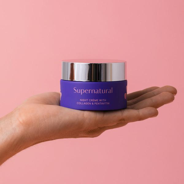 Supernatural Collagen Peptide 72-Hour Crème
