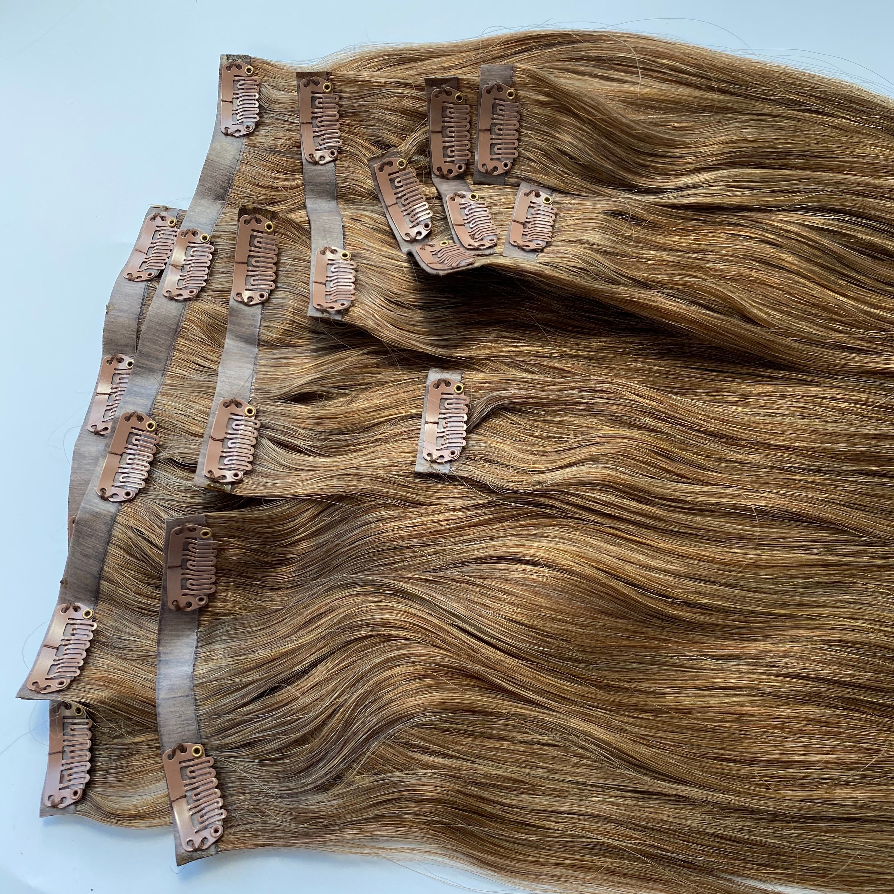 Milahnia Clip-Ins Light Toffee