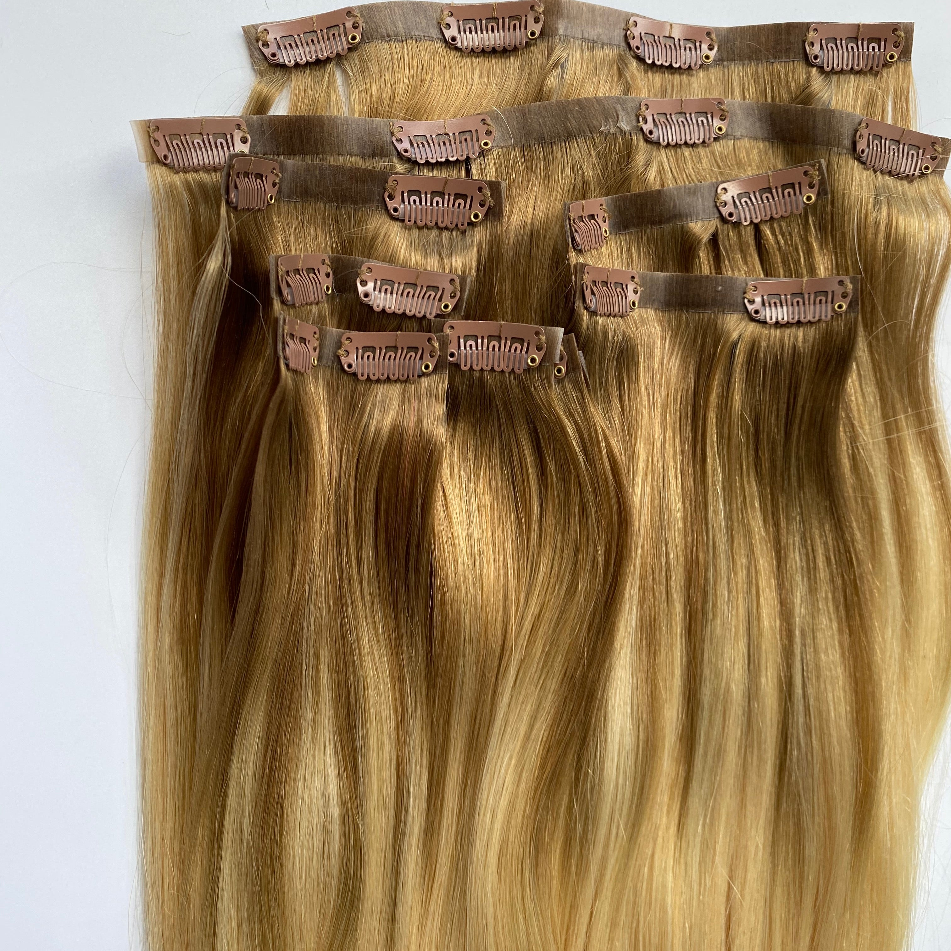 Milahnia Clip-Ins Rooted Blonde