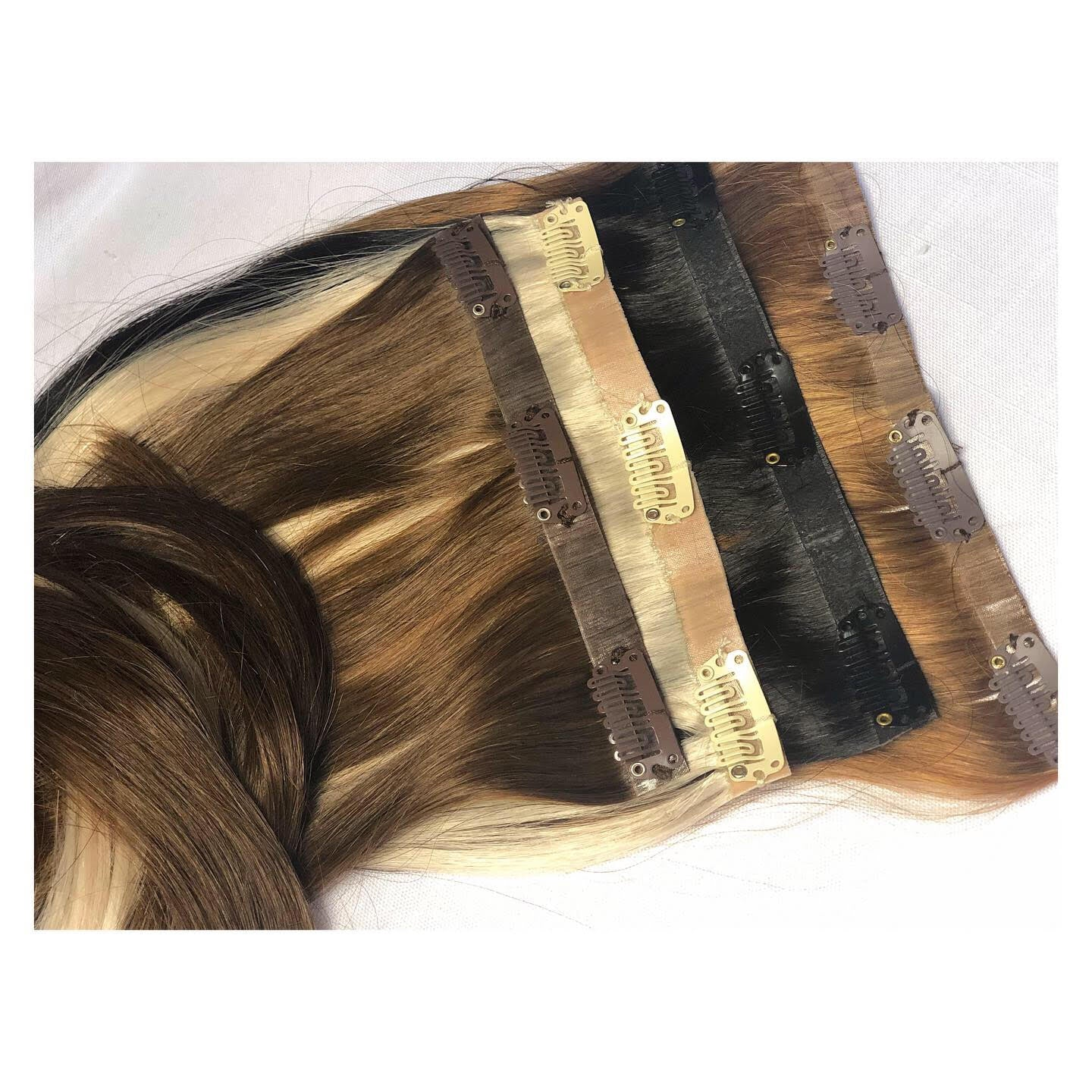 Milahnia Clip-Ins Toasted Almond