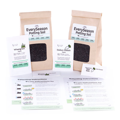 2 Soil and Seed Refill Packs Choose your Seed Varieties
