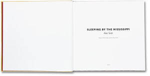 Sleeping by the Mississippi - signed copy